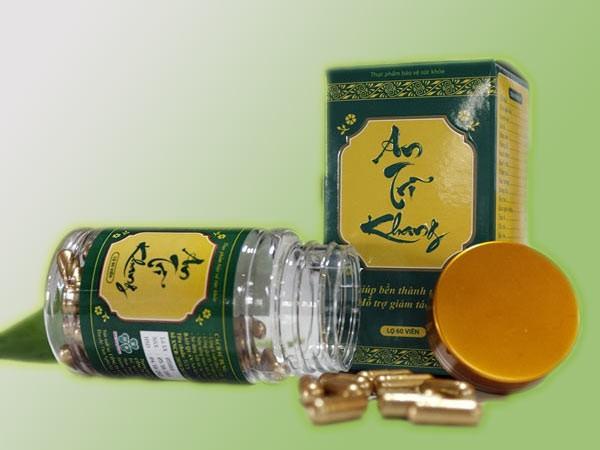 An Trĩ Khang là thực phẩm bảo vệ sức khỏe do công ty cổ phần Truepharmco nghiên cứu và sản xuất