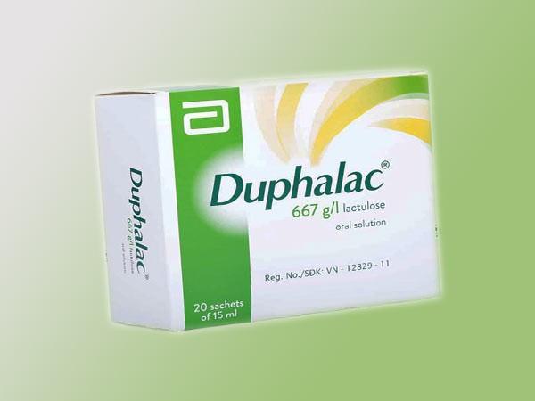 Thuốc điều trị trĩ: Duphalac