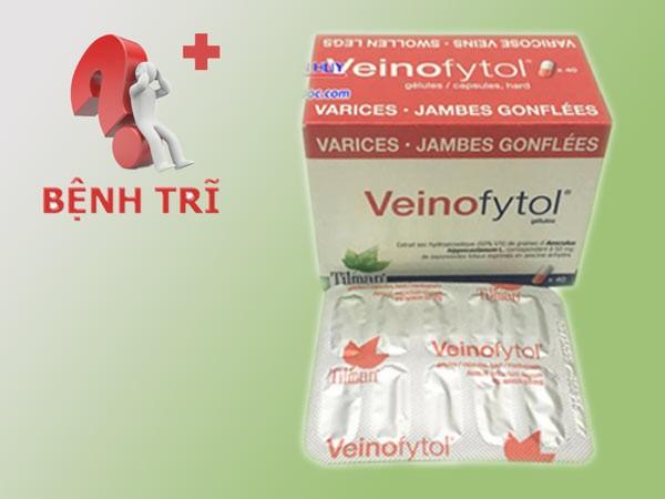 Veinofytol là thuốc điều trị tình trạng suy giãn tĩnh mạch, trĩ