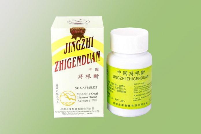 Hình ảnh thuốc Trĩ Căn Đoạn-Jingzhi Zhigenduan