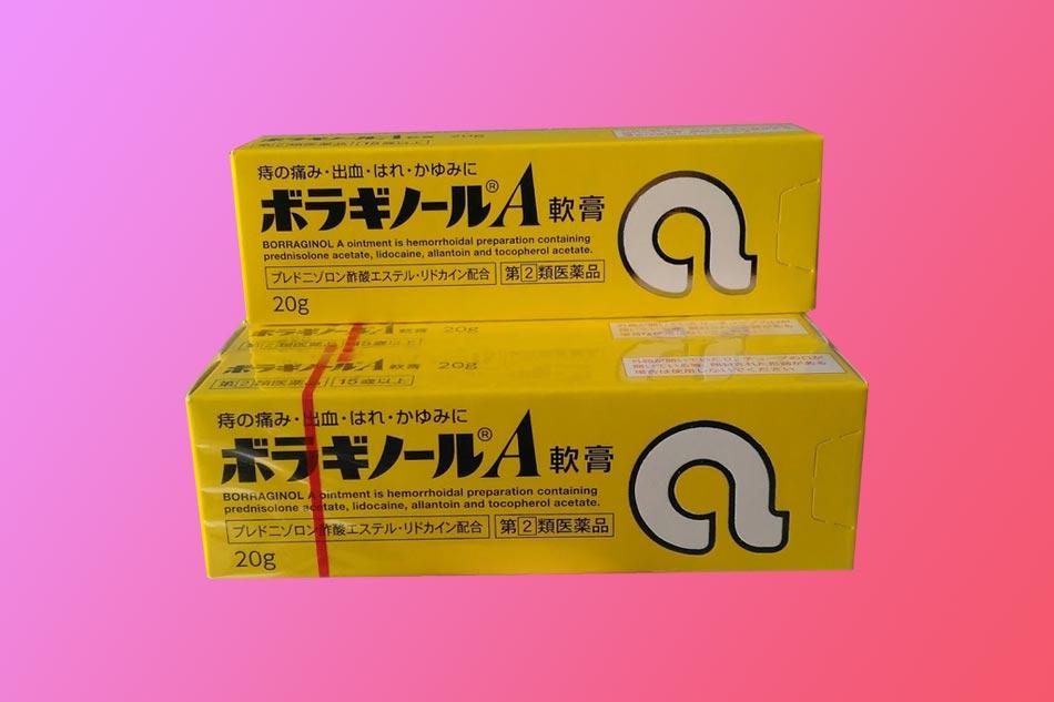 Thuốc bôi trĩ chữ A của Nhật bào chế dưới dạng kem