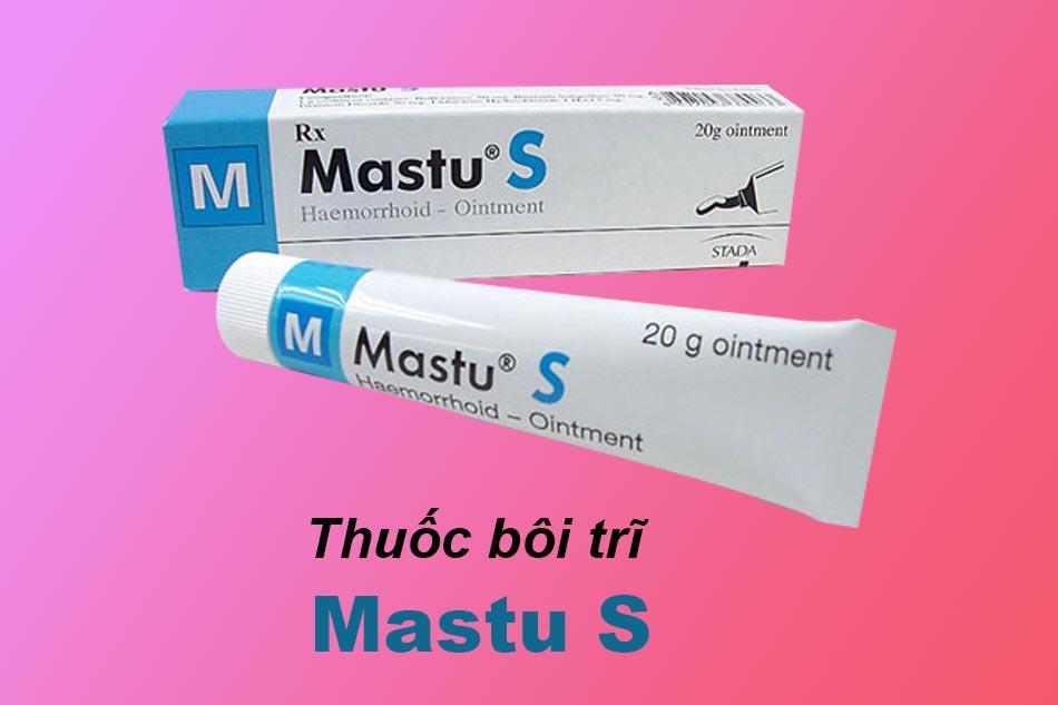 Thuốc bôi trĩ Mastu
