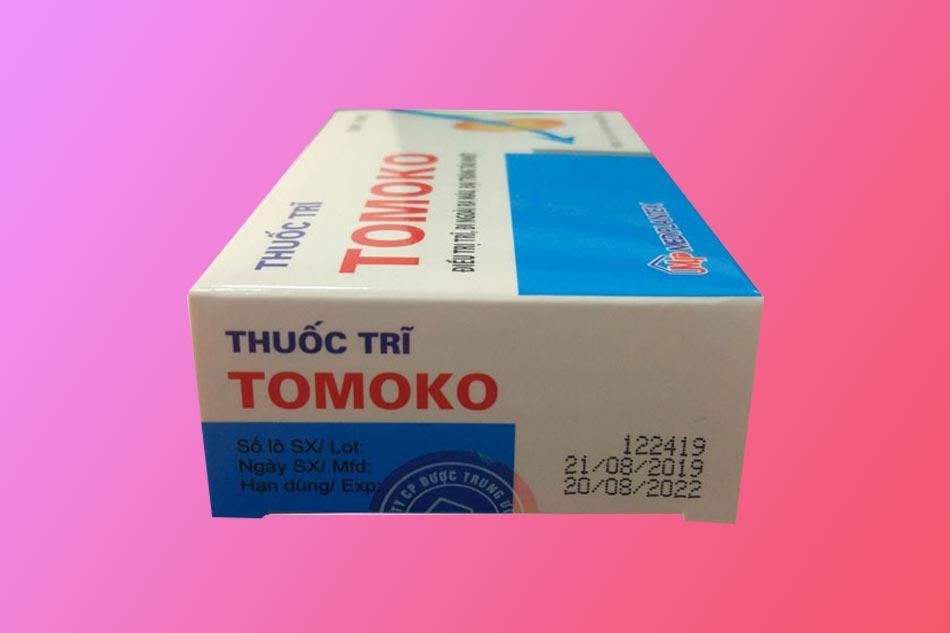 Thuốc Tomoko bào chế dưới dạng viên nang cứng