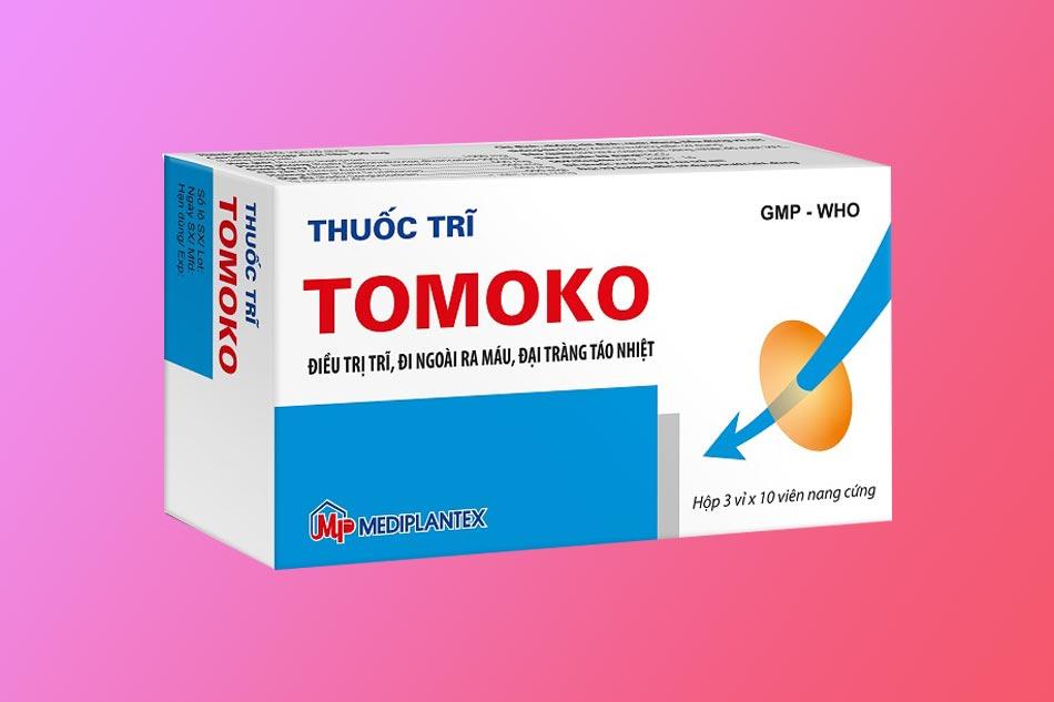 Tomoko được bào chế từ thành phần thảo dược