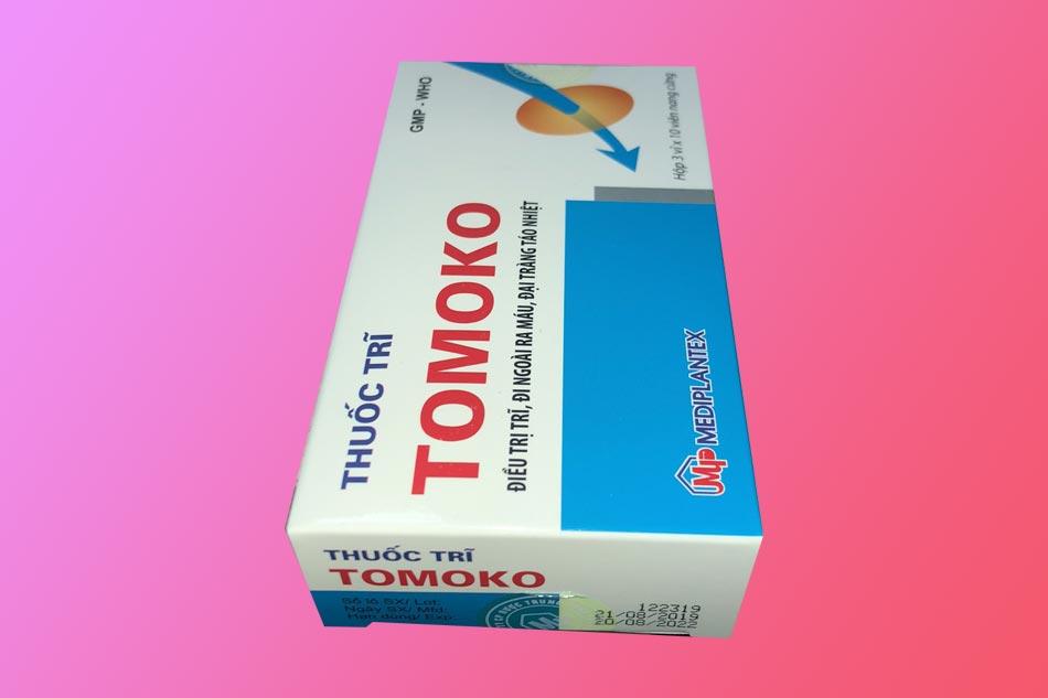 Hình ảnh hộp thuốc Tomoko
